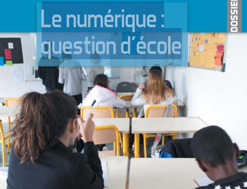 Le numérique : question d'école