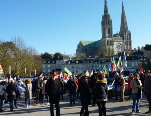"""Pour le retrait de la loi """"sécurité globale"""" – Rassemblement – samedi 28 novembre 14h30 à Chartres"""