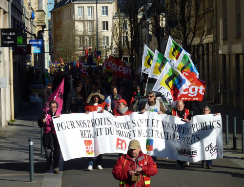 Rejet Universel ! – Communiqué de l'intersyndicale nationale contre la retraite à points