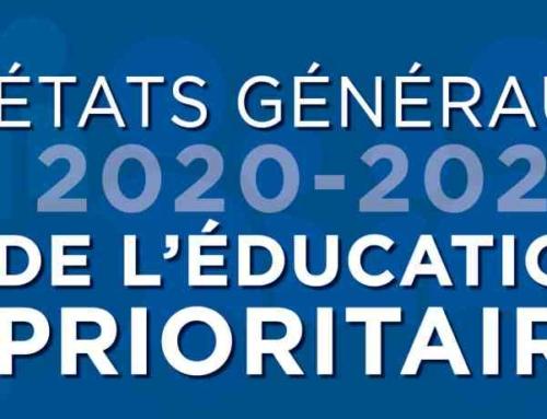 14 janvier 2021 à Chartres (ou en visio) : Etats Généraux de l'Education Prioritaire en Eure-et-Loir
