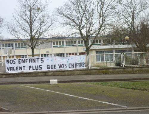 MERCREDI 28 AVRIL : Pour soutenir la directrice de l'école Jean-Macé de Châteaudun